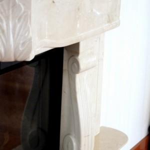 Rzeźbiony Crema Marfil